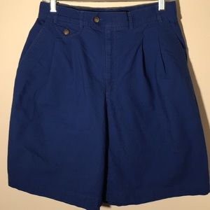 Elisabeth Royal Blue Shorts